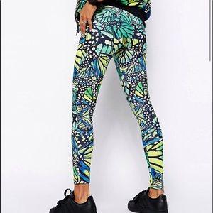 NWT Adidas Originals Butterfly Leggings Streetwear